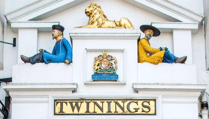 Fachada Twinings en Londres